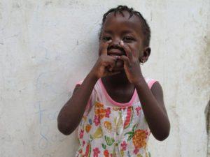 Barn i Dakar - foto Sara Pihl