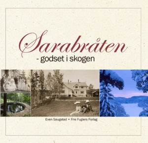 Omslag Sarabråten - godset i skogen